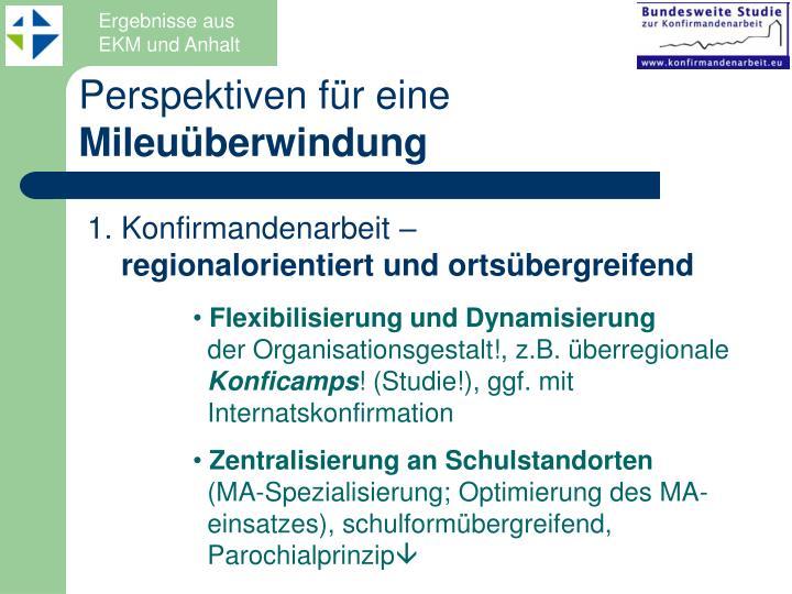 Ergebnisse aus EKM und Anhalt