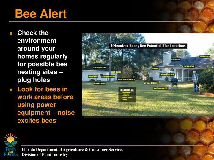 Bee Alert