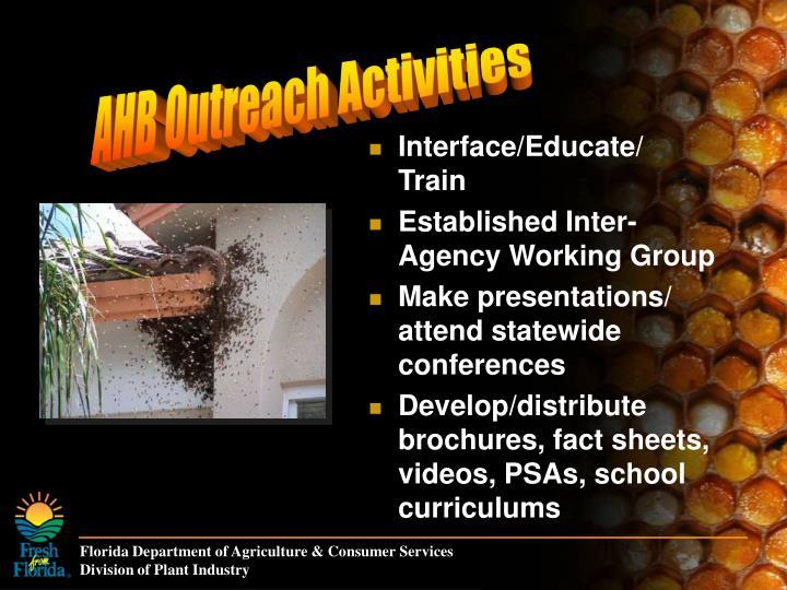 AHB Outreach Activities