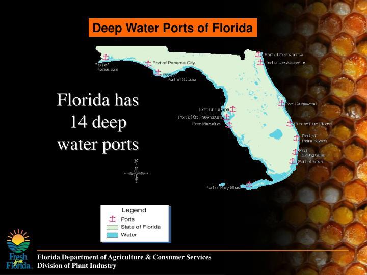 Deep Water Ports of Florida
