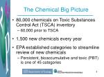 the chemical big picture
