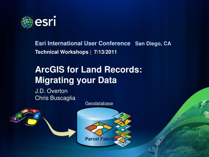 arcgis for land records migrating your data n.