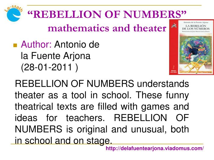 """REBELLION OF NUMBERS"""
