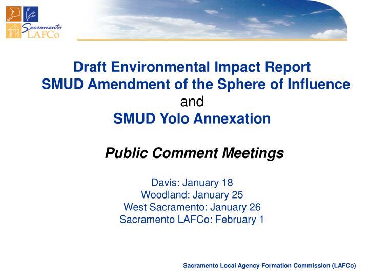 Draft Environmental Impact Report