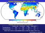 global climatology 2001 2006 of pm 2 5