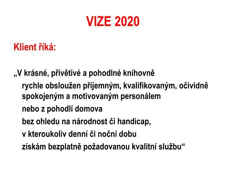 VIZE 2020