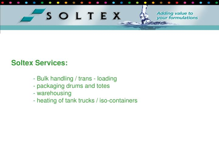 Soltex Services: