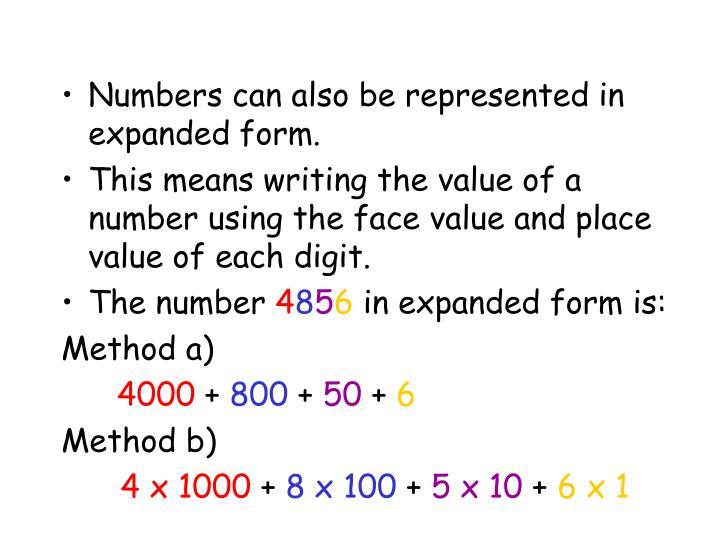 Ppt Understanding Numbers Powerpoint Presentation Id3430976