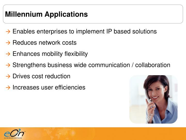 Millennium Applications