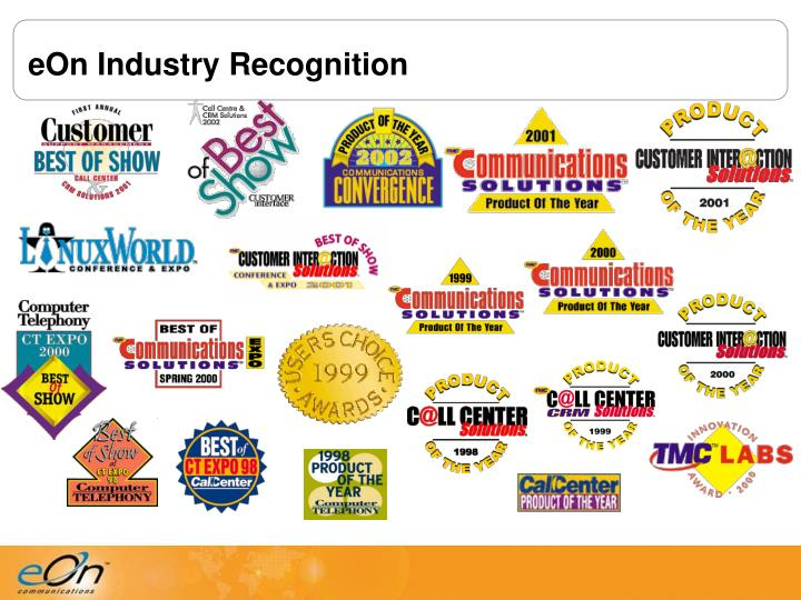 eOn Industry Recognition