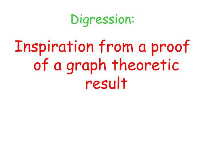 Digression: