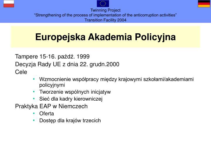Europejska Akademia Policyjna