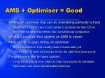 ams optimiser good