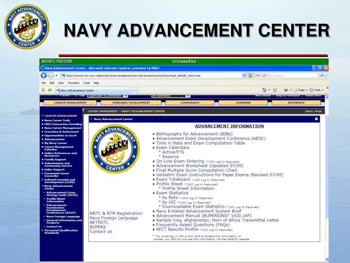 us navy advancement manual images