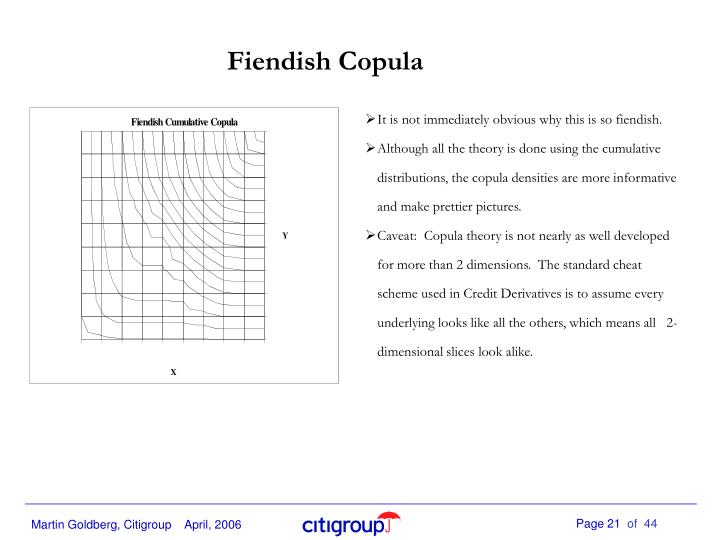Fiendish Copula