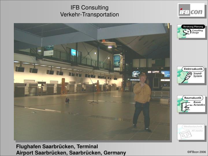 Flughafen Saarbrücken, Terminal