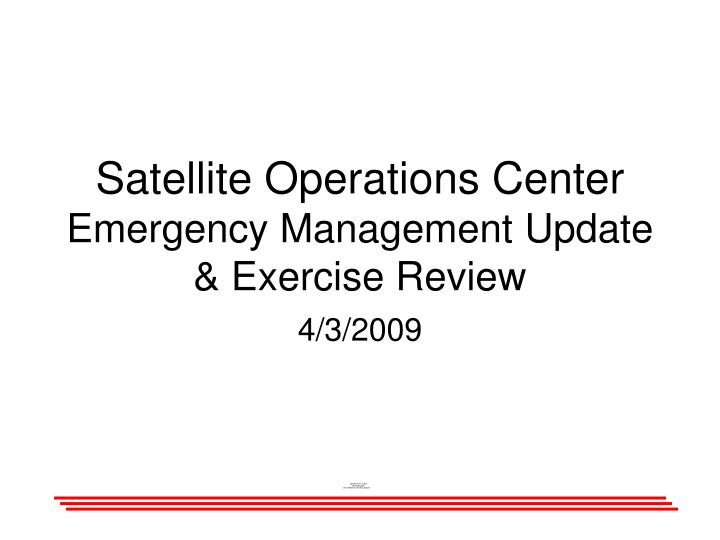 field exercise operations management