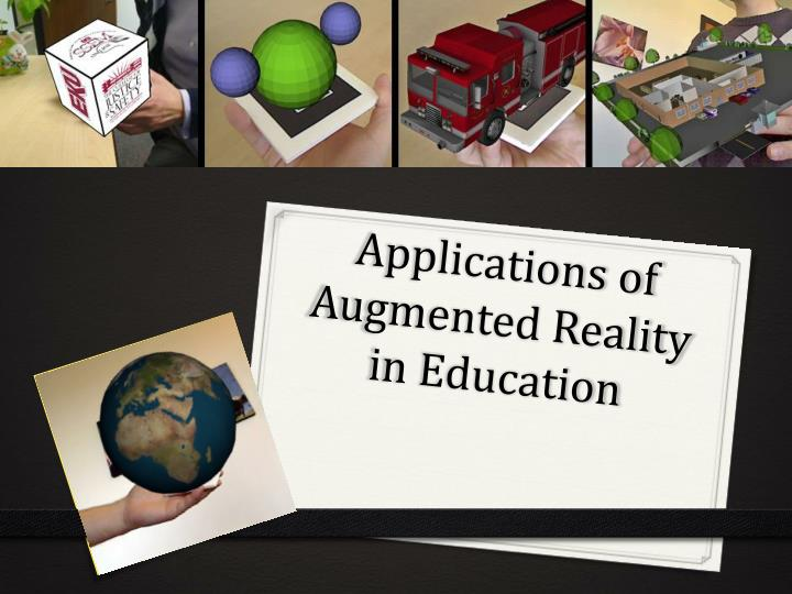 applications of augmented reality in education n.