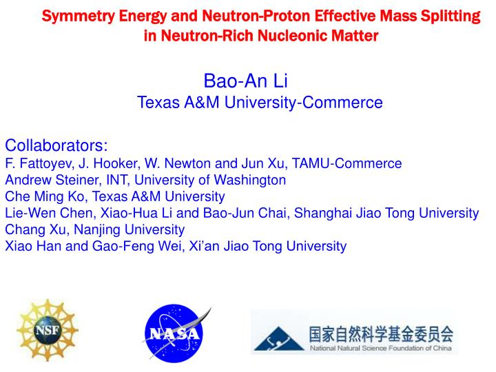 Symmetry energy and neutron proton effective mass splitting in neutron rich nucleonic matter