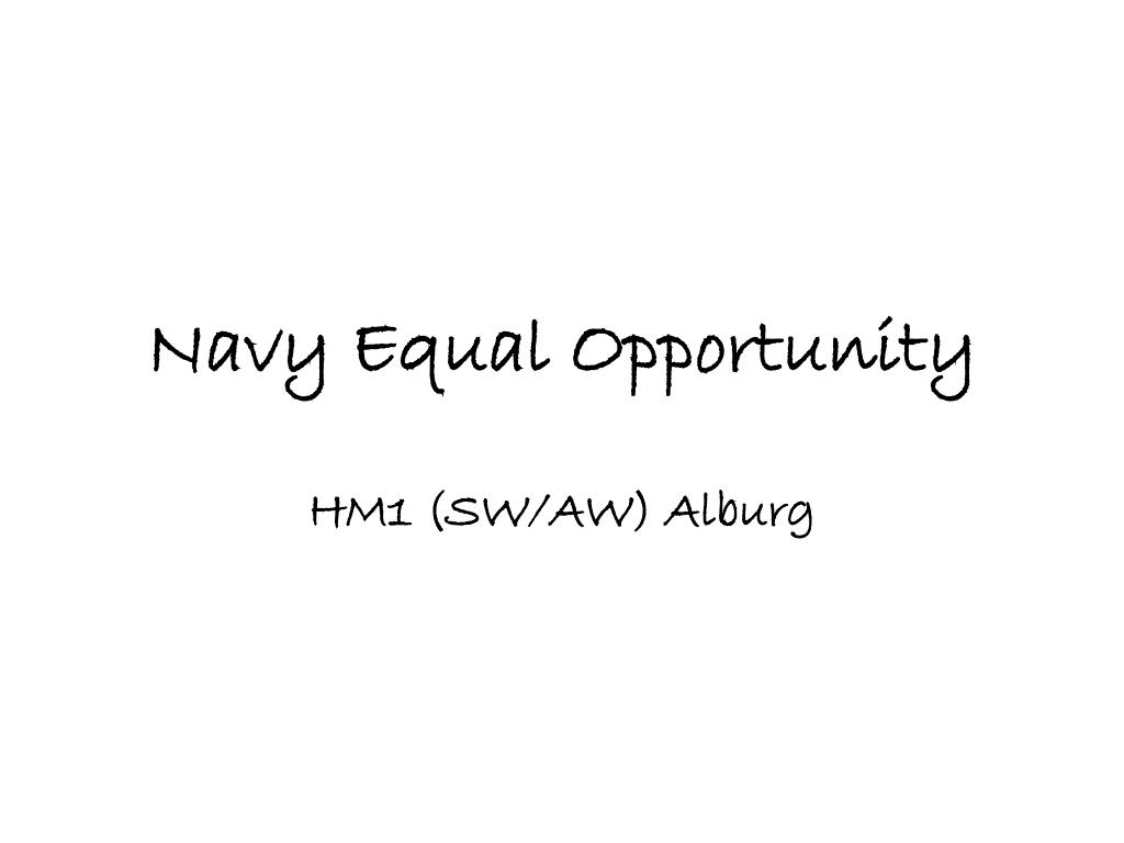 ppt navy equal opportunity powerpoint presentation id 3432039