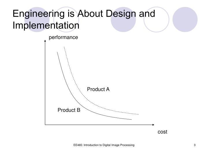 Engineering is about design and implementation