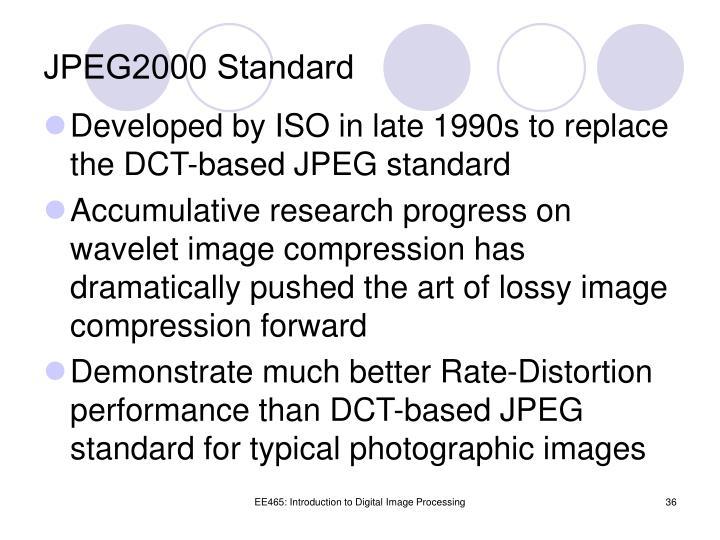 JPEG2000 Standard
