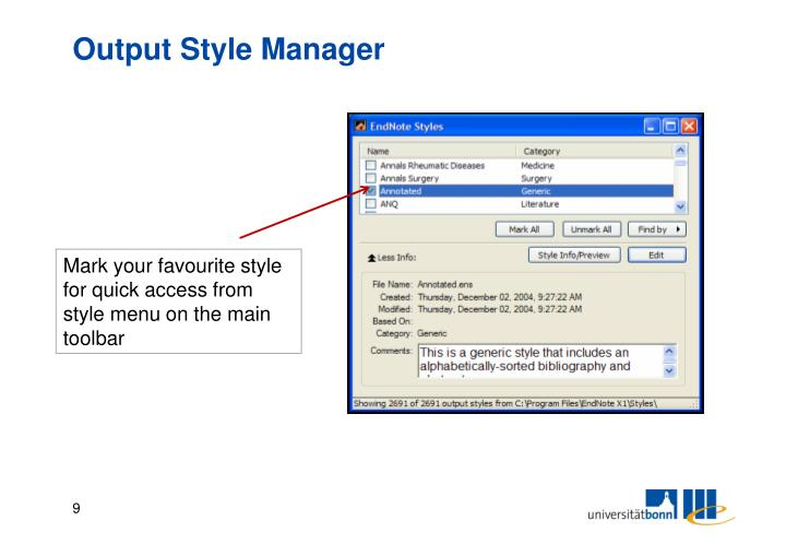 Output Style Manager