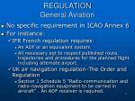 regulation general aviation