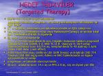 hedef tedav ler targeted therapy