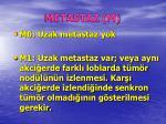 metastaz m