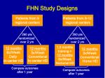 fhn study designs