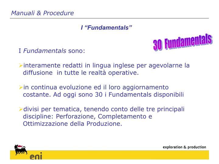 Manuali & Procedure