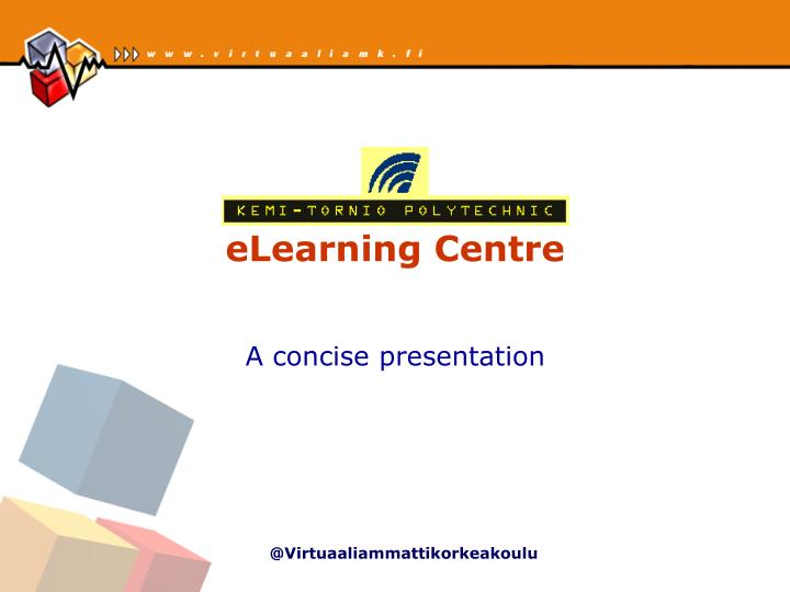 elearning centre n.