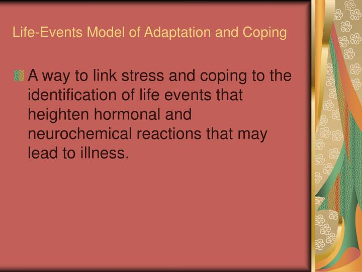 Life-Events Model of Adaptation and Coping