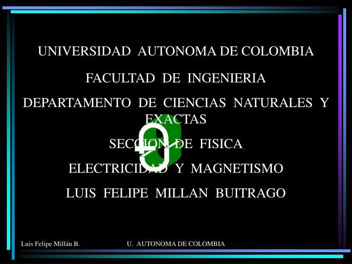 universidad autonoma de colombia n.