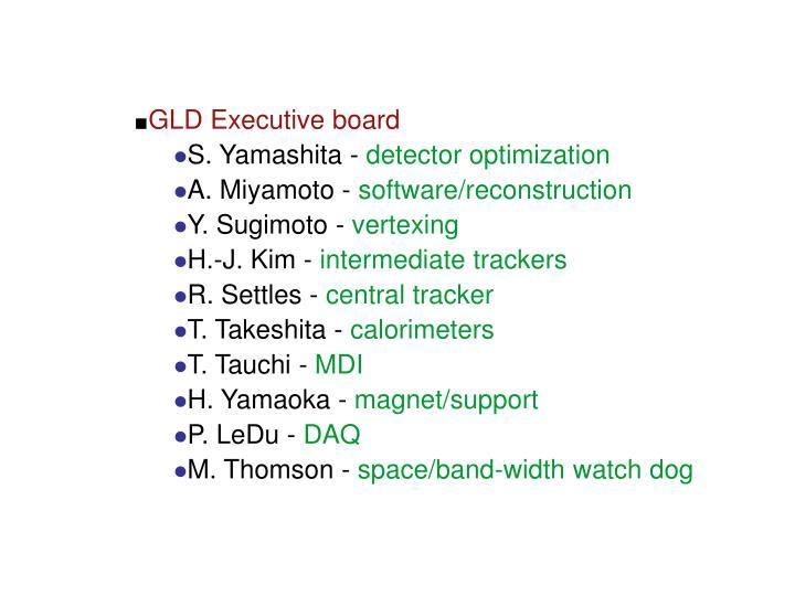 GLD Executive board