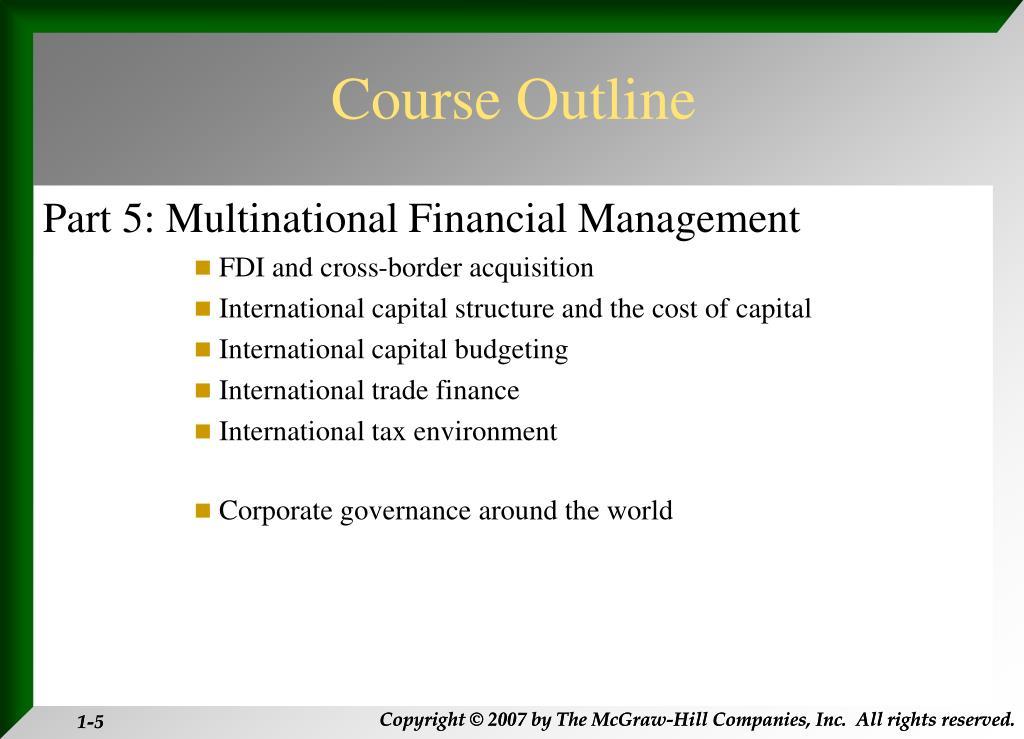 PPT - FN 313: International Financial Management ...