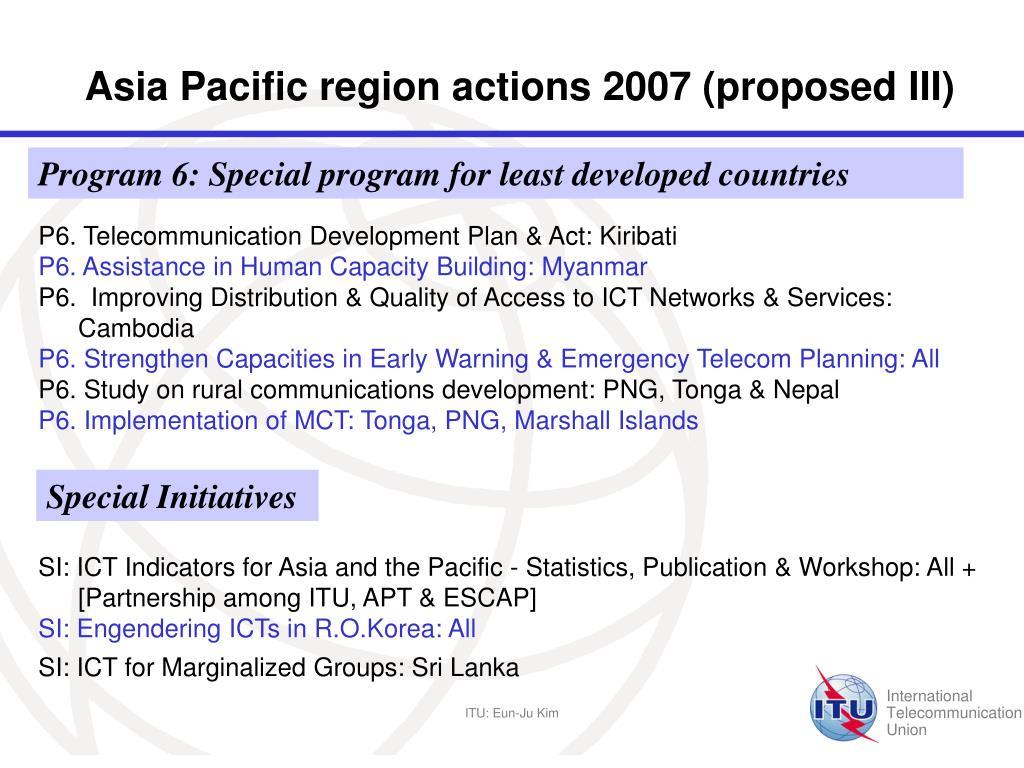 PPT - December 1, Bangkok, 2006 Eun-Ju Kim Ph D  Head of ITU