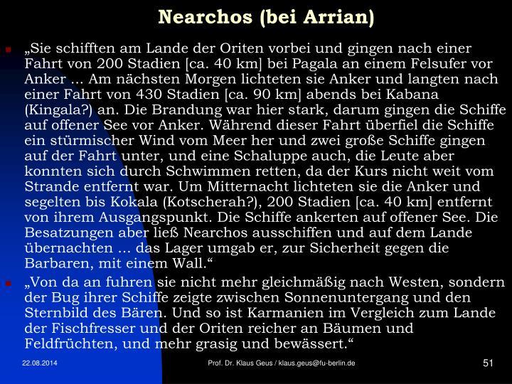 Nearchos (bei Arrian)