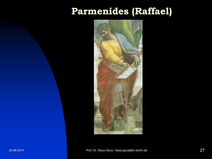 Parmenides (Raffael)