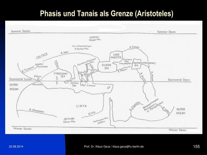 Phasis und Tanais als Grenze (Aristoteles)