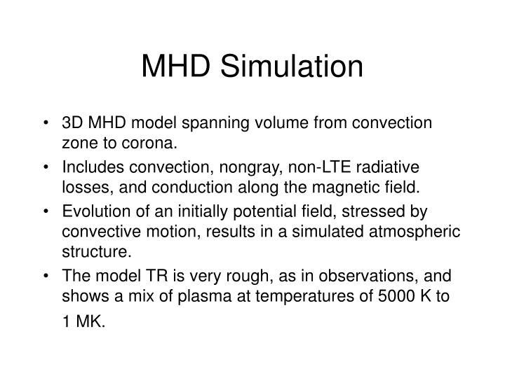 MHD Simulation