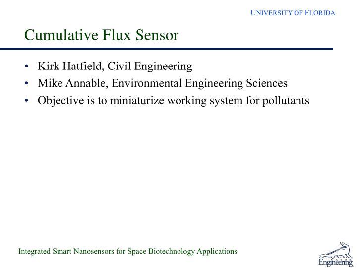 Cumulative Flux Sensor