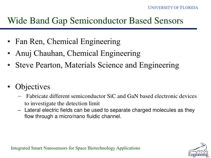 Wide Band Gap Semiconductor Based Sensors