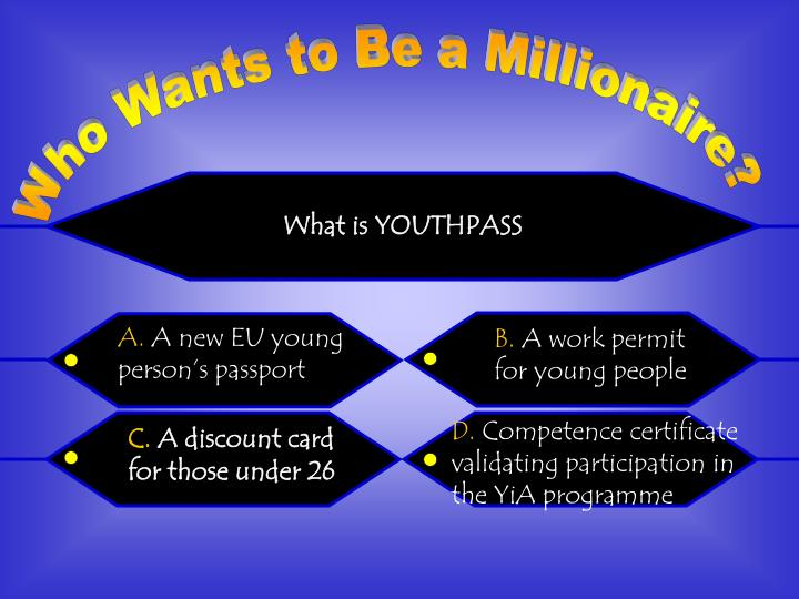 What is YOUTHPASS