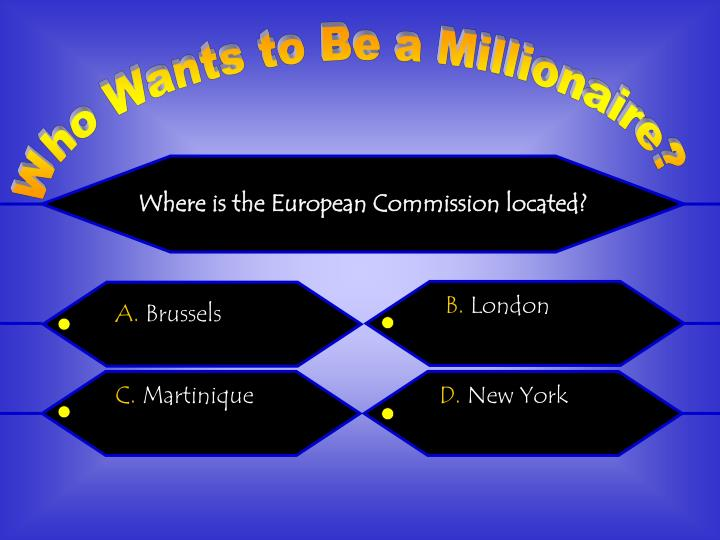 Where is the European Commission located?