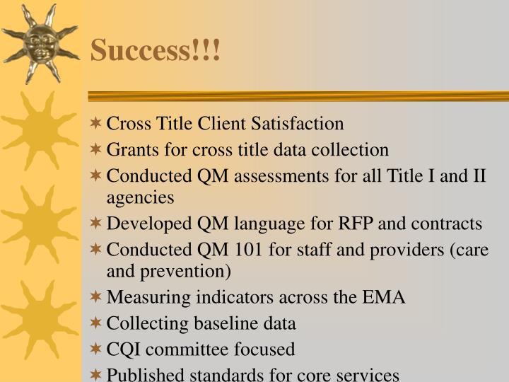 Success!!!
