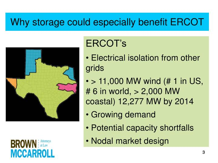Why storage could especially benefit ercot