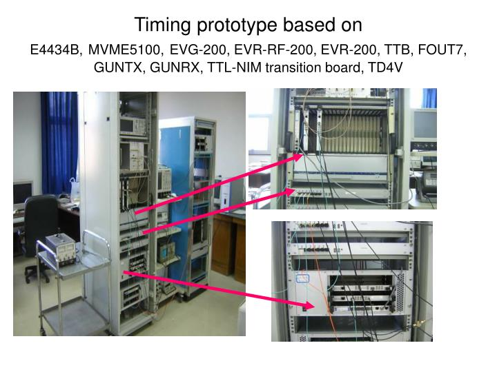 Timing prototype based on