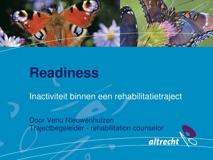 readiness n.